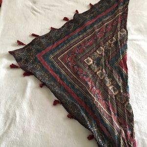 Triangle fashion scarf from Urban Outfitters